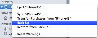iTunes-backup