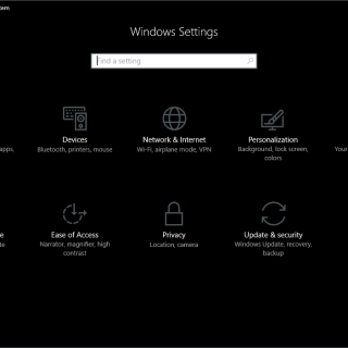 Enable Dark Theme in Windows 10