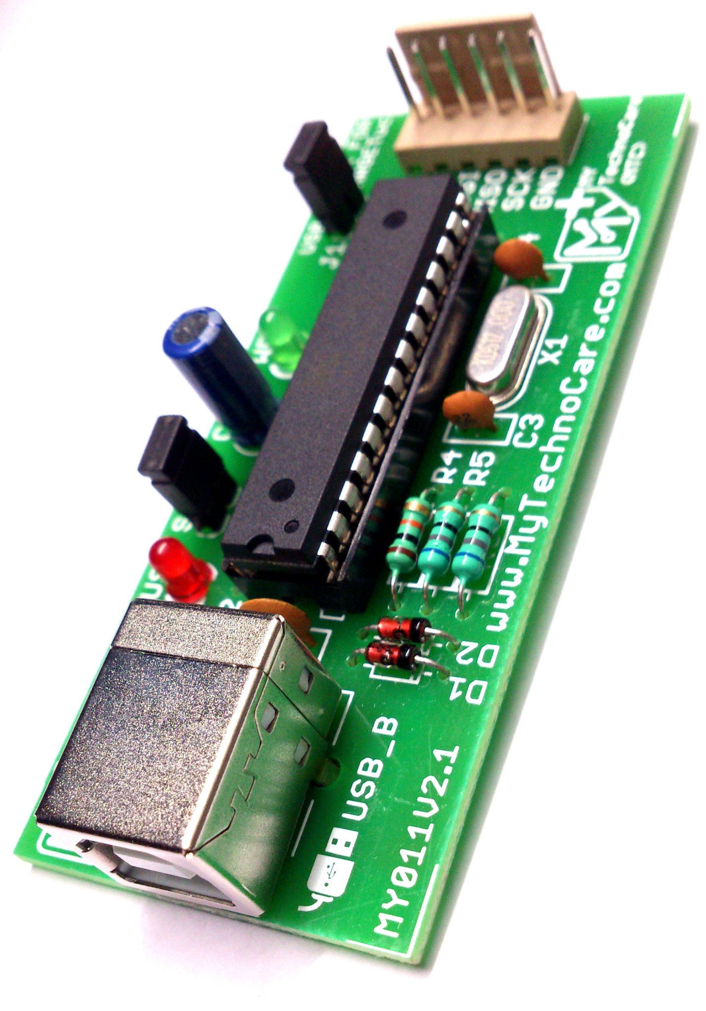 AVR 8051 USB ISP Programmer For Atmel AVR & 8051 Microcontroller