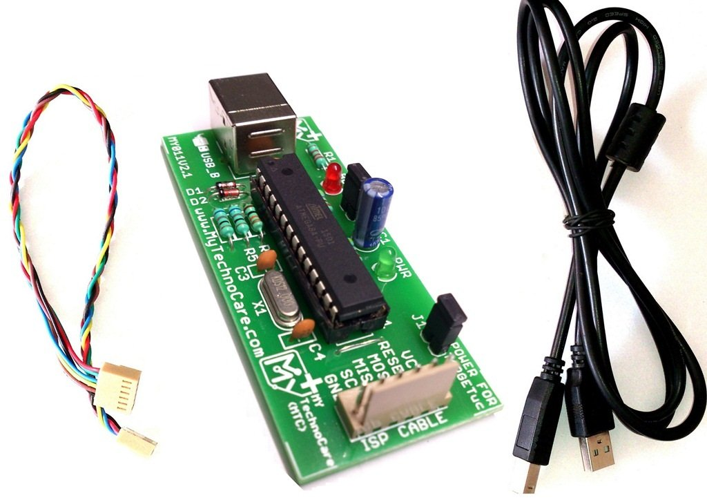 Avr 8051 Usb Isp Programmer For Atmel Microcontroller My