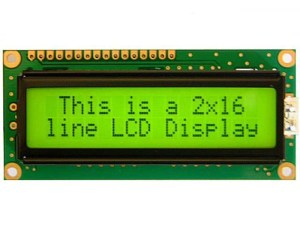 16x2 LCD Display Arduino 16x2 162 2x16 Alphanumeric Display(JHD162A) MY TechnoCare www.mytechnocare.com