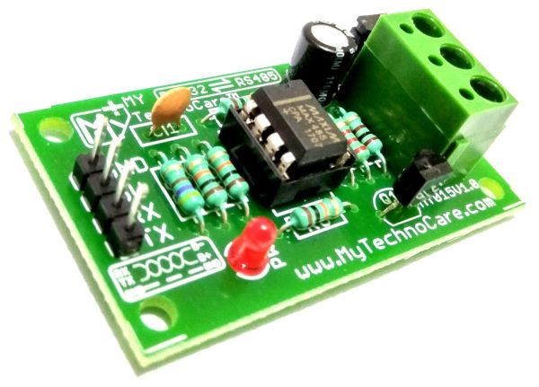 RS485 to TTL Converter (MAX485) Data Converter Adapter Module For USB Microcontroller Arduino,8051,PIC,AVR Raspberry Pi.Use in Long distance Network Communication Protocol like Modbus,Profibus,HART,Fieldbus Home,office,Industrial Automation IoT Research & Development,DIY Student Project electronics engineering Hobby R&D MY TechnoCare www.MyTechnoCare.com