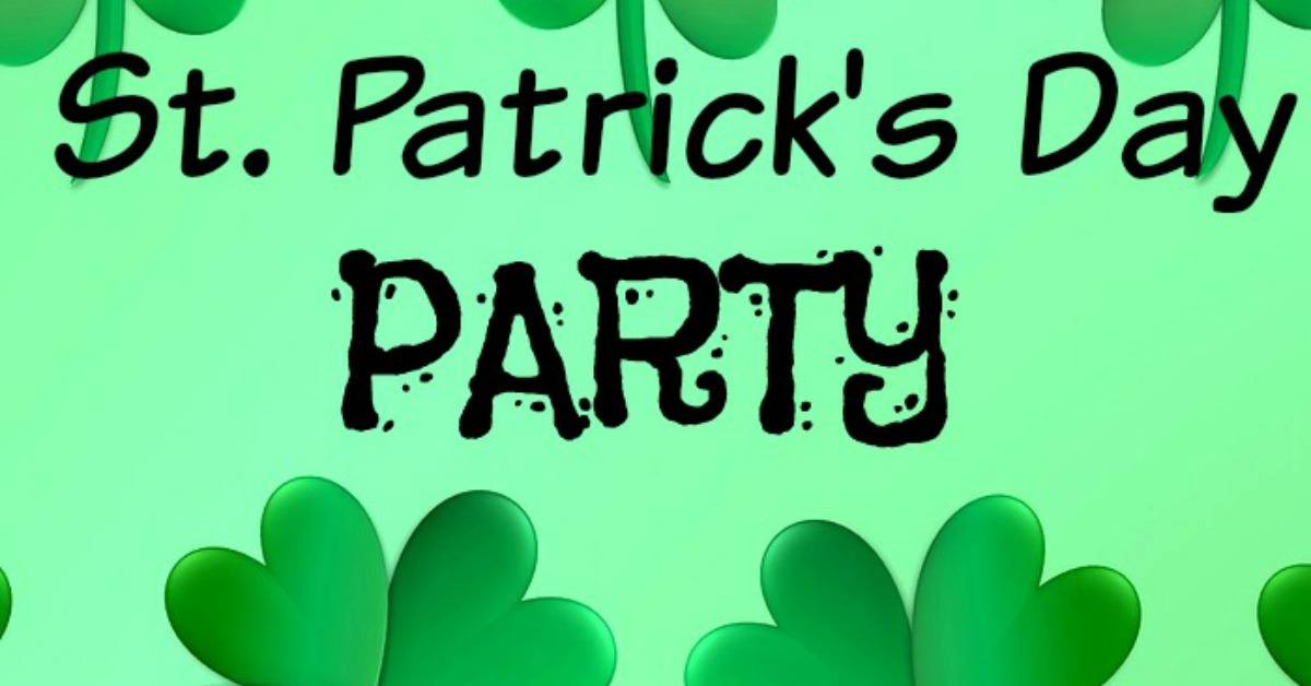 Image result for st patrick party jesus