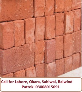 Bricks Rates in Pakistan