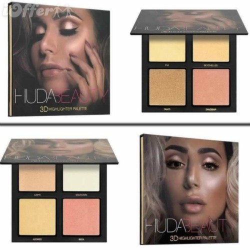 Huda Beauty 3D Highlighter Palette Price in Pakistan