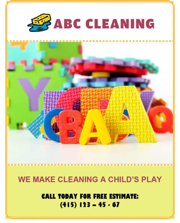 ABC CLEANING FLYERS