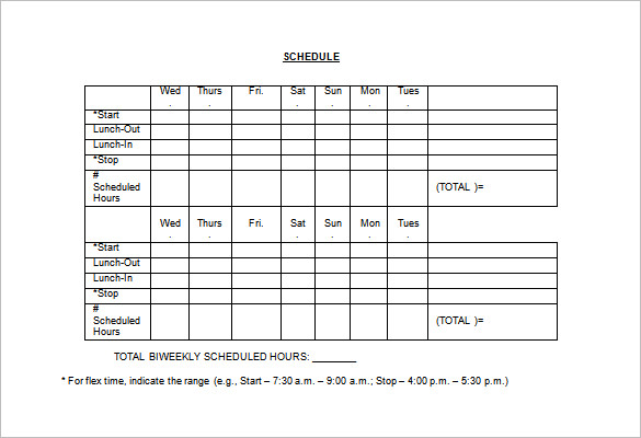 download schedule template daily schedule template monthly schedule template excel