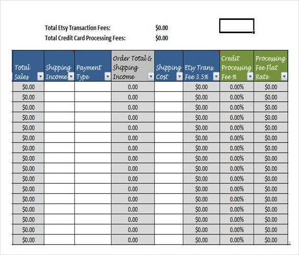 Monthly Sales Tracking Template Download