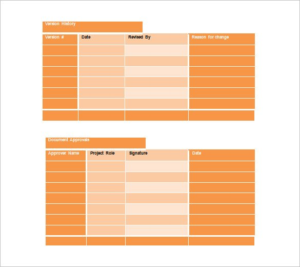Workout Training Schedule Template in Word