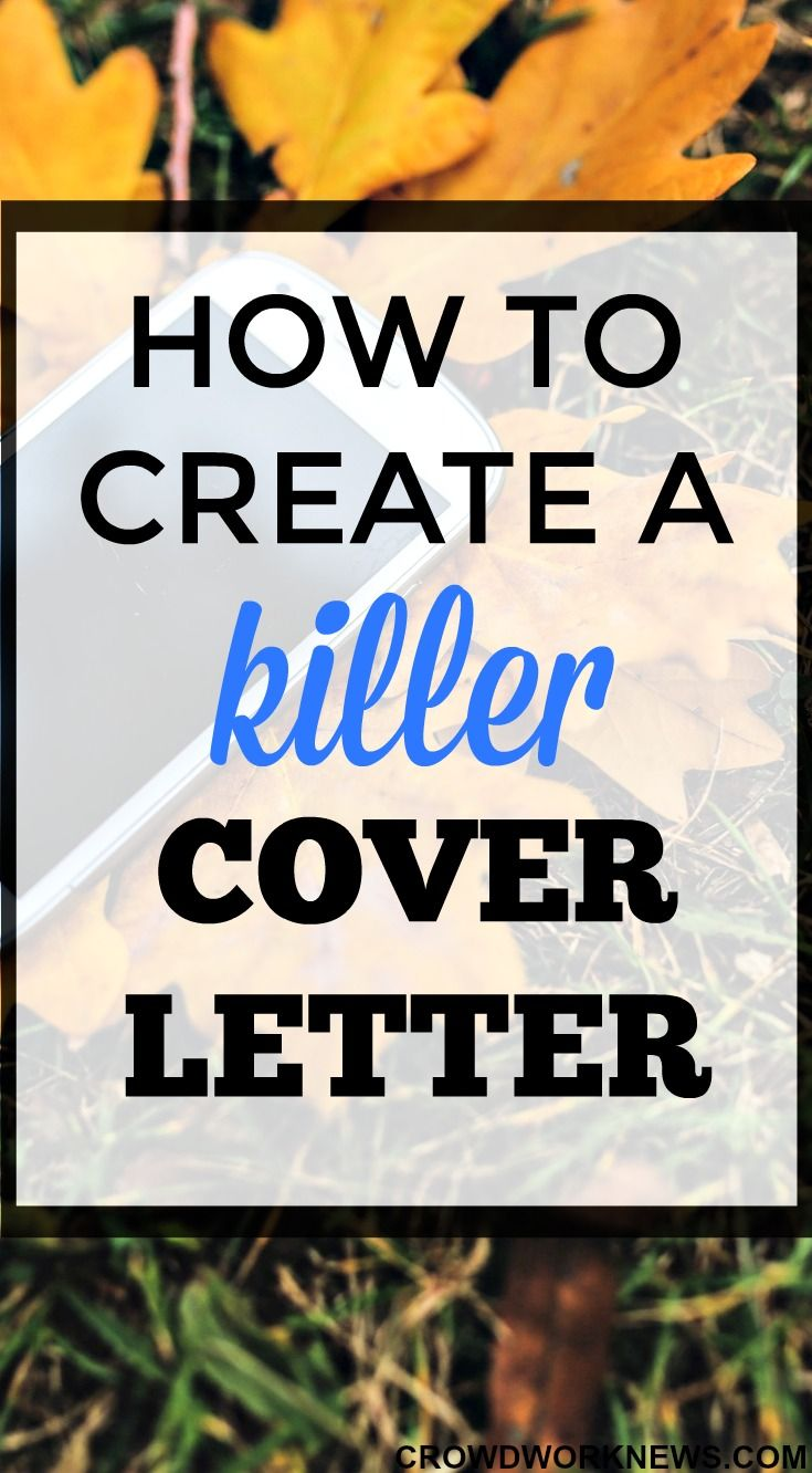 How to Create a Killer Cover Letter Format to Land Your line Job
