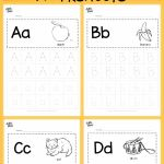Alphabet Activities Preschool Worksheets Of Download Free Alphabet Tracing Worksheets for Letter A to Z Suitable for Prescho Alphabet Free Letter Prescho Suitable Tracing Worksheets