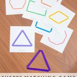Alphabet Worksheets for Kids Free Printable Of Shapes Matching Game and A Free Printable She Amy