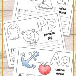 Alphabet Worksheets for toddlers Of Free Printable Alphabet Book Alphabet Worksheets for Pre K and K Easy Peasy Learners