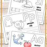 Alphabet Worksheets Of Free Printable Alphabet Book Alphabet Worksheets for Pre K and K Easy Peasy Learners