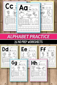 Alphabet Worksheets Primary Of Alphabet Printable Activities for Preschool and Kindergarten these Pack Of Worksheets Will Make Teaching and Practice English Uppercase and Lowercase Letters Much Easier Your Students Will Have so Much Fun Coloring Cute Animals and Alphabet Pictures Tracing Letters Practicing Writing and More the Kids Practice Letter Recognition and Handwriting In A Creative Way This Pages are Perfect Fo Morning Work Small Groups Early Finishers Alinavdesign Alphabetpractice Alphabetworksheets Abcs