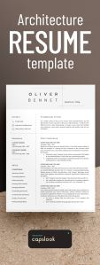 Architecture Resume Template Free Of