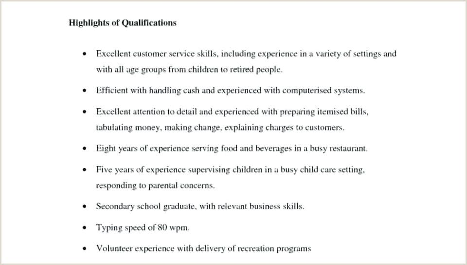 Professional Cv format for Hotel Industry