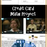 Consumer Math Worksheets Of Consumer Math Credit Card Project This is A Credit Card Project Meant for Middle School and High School Students Consumer Math Can Be Very Confusing Particularly for Students who Have Very Little Experience It Provides A Simple Look at How Credit Cards Work How Credit Card Panies Make Money How Payments Work and How to Use them Responsibly