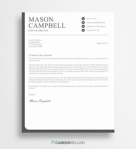 Cover Letter Template Free Download Of Gmu Career Services Resume New Free Cover Letter Template to Download Cover Letter Examples