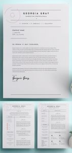 Cover Letter Template Free Modern Of 50 Best Resume Templates
