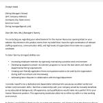 Cover Letter Template Job Seekers Of