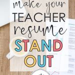 Create A Cover Letter Free Of 10 Tips to Make Your Teacher Resume Stand Out Write On with Miss G