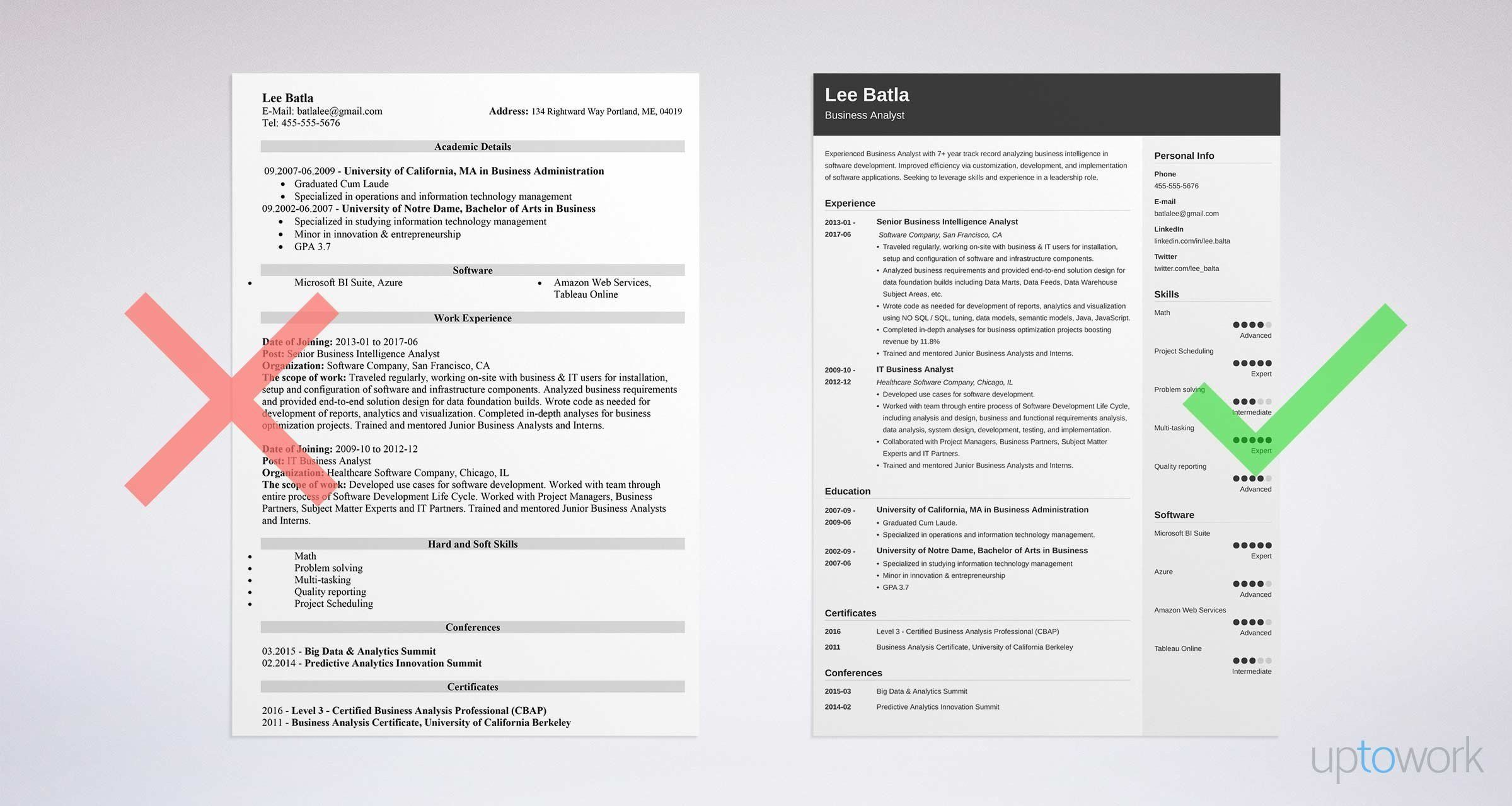 Cyber Security Analyst Resume How to Write the Perfect Business Analyst Resume Zippia Senior It