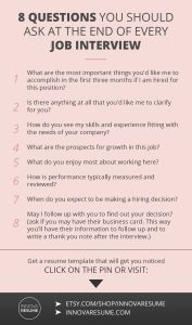 Do You Need A Resume for A Job Of 8 Questions You Should ask at Every Job Interview