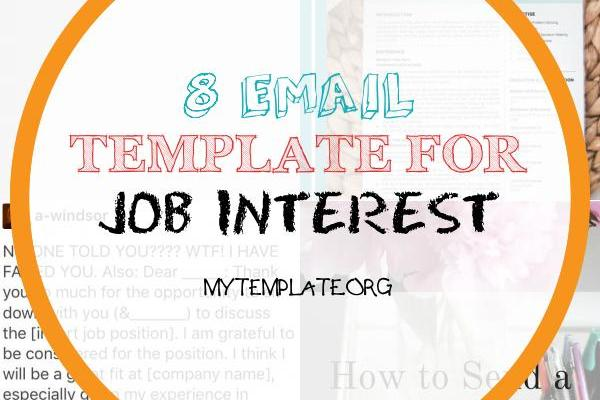 Email Template for Job Interest Of the Job Interview Thank You Email Template You Need