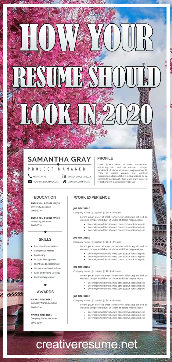 Resume Template Professional Resume Creative Resume CV Template Modern Resume Resume Word CV