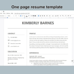 Free Downloadable Resume Template Microsoft Word Operating System Of Professional Resume Template for Google Docs