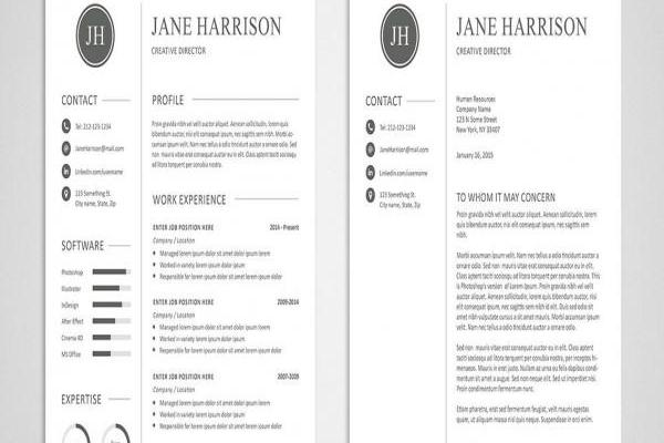 Free Modern Resume Templates Of Free Resume Template and Cover Letter