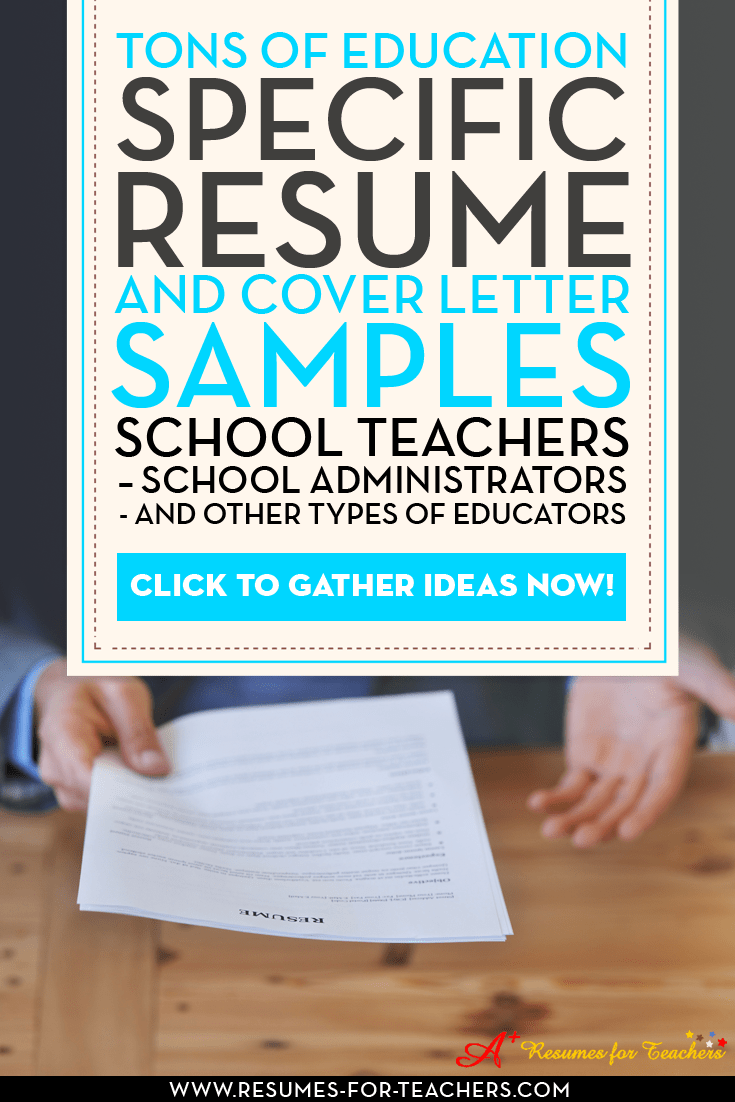 15 A Teacher Resume Examples