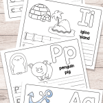 Letter A Activities for Preschool Printables Alphabet Worksheets Of Free Alphabet Tracing Printables Homeschool Giveaways