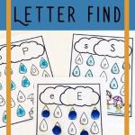 Letter Recognition Activities Printables Alphabet Worksheets Of Free Rainy Day Letter Find This Free Printable Alphabet Worksheets are A Fun Way for Preschoolers to Practice Letter Recognition with A Fun Spring Activities for Preschoolers Preschool Alphabet Letterrecognition
