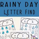 Letter Worksheets for Preschool Alphabet Activities Of Free Rainy Day Letter Find This Free Printable Alphabet Worksheets are A Fun Way for Preschoolers to Practice Letter Recognition with A Fun Spring Activities for Preschoolers Preschool Alphabet Letterrecognition