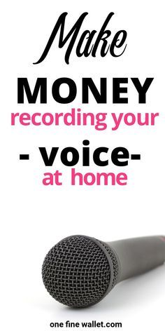 How to into Voice Over Work Voice Acting Jobs included e Fine Wallet