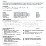 Nursing Resume Examples Cover Letters Of Resume Examples Nursing Student Resume Examples