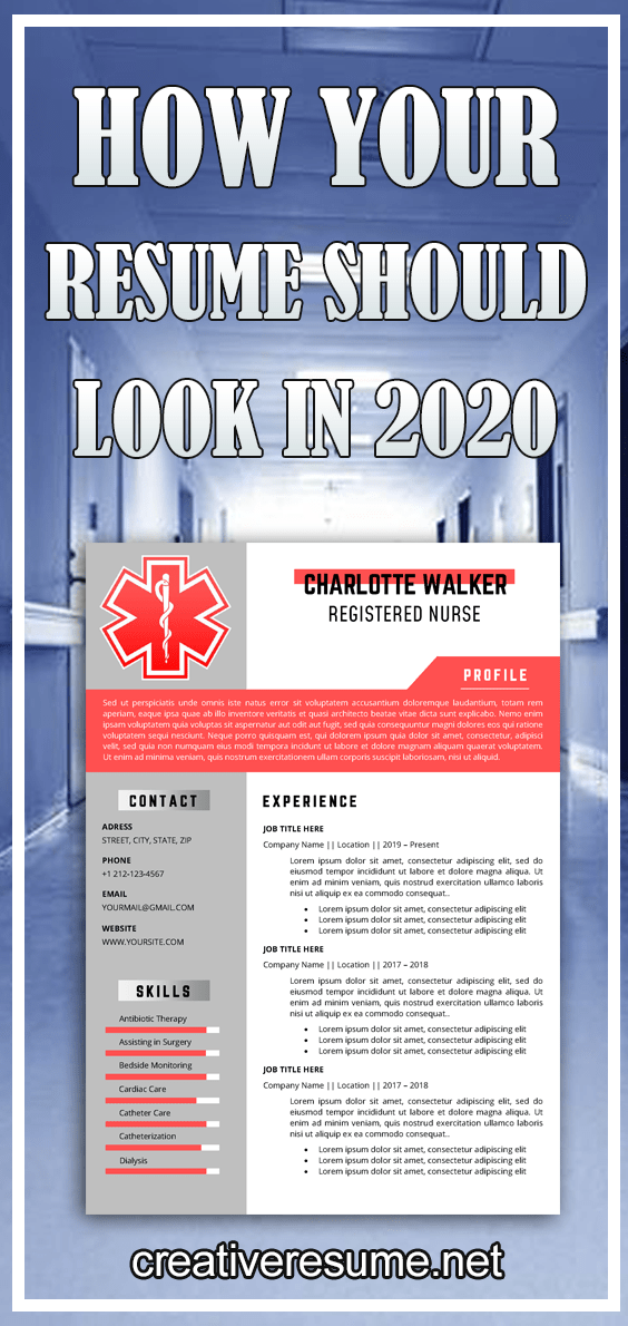 Registered Nurse Resume Template for Word CV for Emergency medical technicians and paramedics