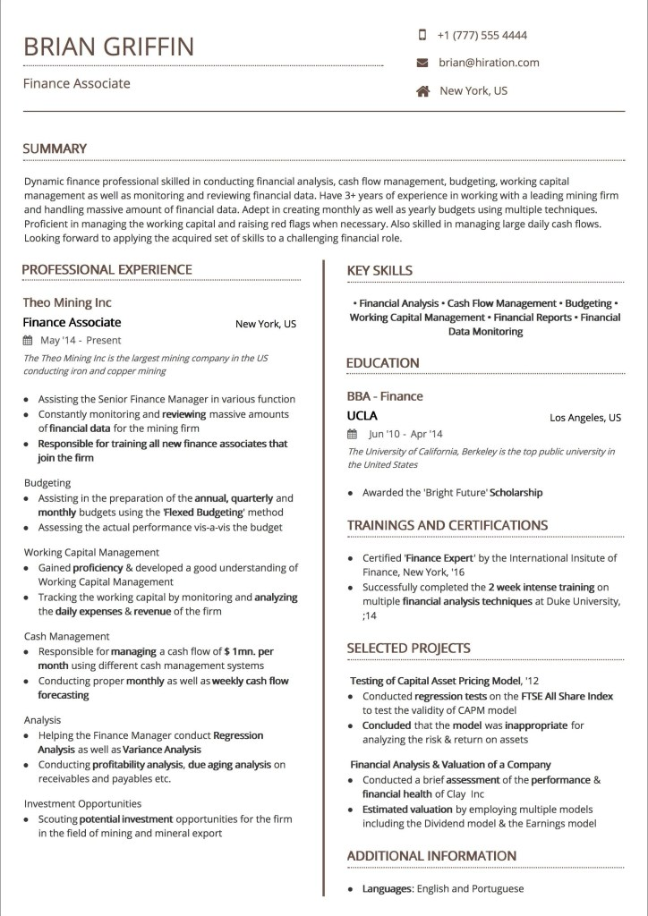 Professional Resume Templates Of Resume Templates the 2019 Guide to Choosing the Best