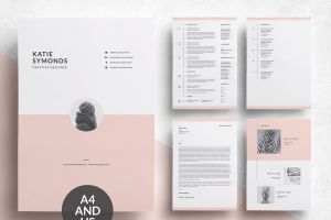 Resume Cover Letter Template Creative Of