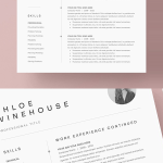 Resume Cover Letter Template Free Of Resume Templates Clean Design