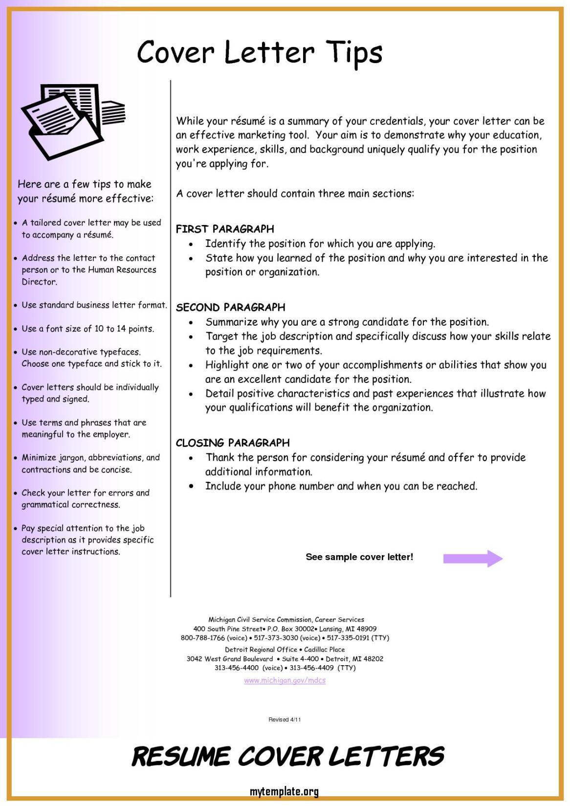 resume cover letters of resume cover letter examples