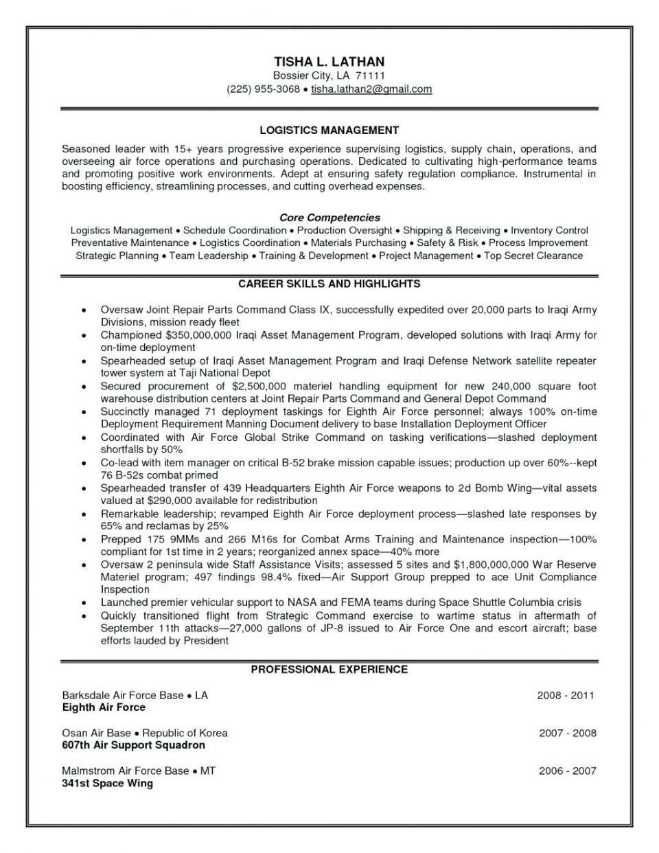 Supply Chain Analyst Resume Resume format for Supply Chain Executive Kobcarbamazepi