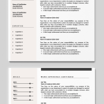Resume Template Downloadable Of Cv Template