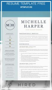Resume Template Free Of Resume Template