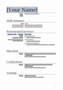 Resume Template Free Printables Of Free Functional Resume Template Inspirational Free Blanks Resumes Templates