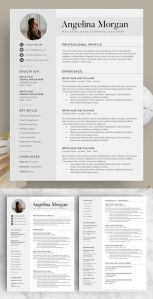Resume Template Free Word Of Professional Resume Template 2020 Download now