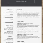 Resume Template Free Word Of the Best Free Creative Resume Templates Of 2019 Skillcrush