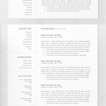 Resume Template Professional Engineer Of Resume Templates Clean Design